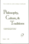 Philosophy, Culture, and Traditions